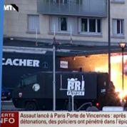 Prises d'otages : les images incroyables des deux assauts
