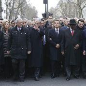 Marche républicaine: «J'ai vu Nicolas Sarkozy jouer des coudes»