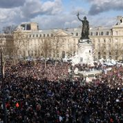 Marche républicaine : Marianne à sa place