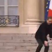 Pas vu à la télé: la chute de la Première ministre danoise à l'Élysée