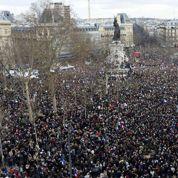 Marche républicaine: «J'ai eu les larmes aux yeux en chantant La Marseillaise »
