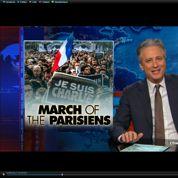 Le clin d'oeil de Jon Stewart sur la marche républicaine