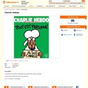 Le nouveau numéro de Charlie Hebdo se revend déjà à prix d'or sur le Web