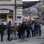 Le franc suisse flambe: krach boursier à Zurich