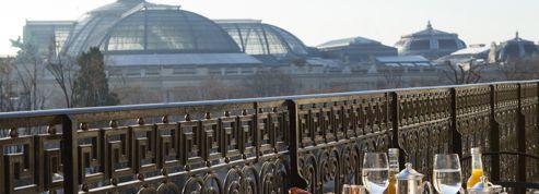 Chambres avec vue sur le Grand Palais