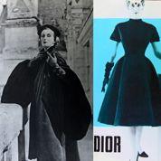 Les créations du couturier Christian Dior de 1948 à 1954