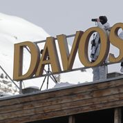 Première participation de François Hollande au Forum de Davos