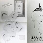 Les croquis de Dior parus dans Le Figaro des années 30