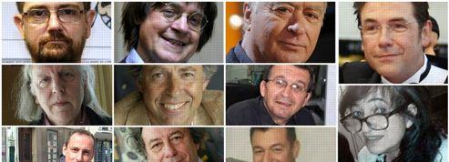 Les dix-sept victimes des attentats de Charlie Hebdo