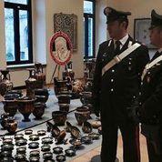 L'Italie réalise sa plus vaste récupération d'œuvres d'art