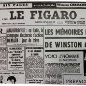 Exclu 1948: Le Figaro publie les Mémoires de Churchill