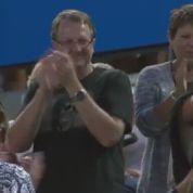 Une demande en mariage … en plein match de Djokovic