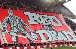 La banderole qui choque la Belgique
