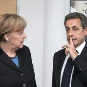 Merkel retrouve Sarkozy en chef de parti