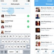 Twitter répond à Facebook dans la messagerie et la vidéo
