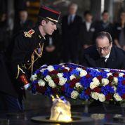 Au mémorial de la Shoah, François Hollande rend hommage aux déportés