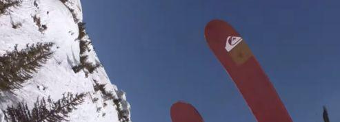 Une descente de ski à couper le souffle