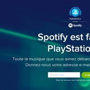 Sony s'allie à Spotify pour lancer PlayStation Music