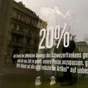 La Suisse menacée de récession à cause du franc fort