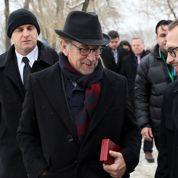 Steven Spielberg présent aux commémorations à Auschwitz
