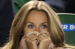La compagne d'Andy Murray insulte Tomas Berdych des tribunes