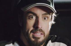 Fernando Alonso et Jenson Button dans un remake de Retour vers le futur