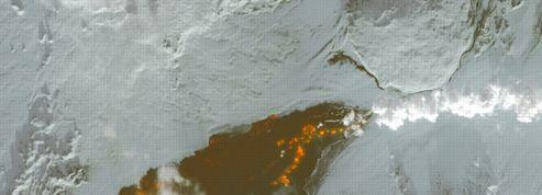 La plus importante éruption depuis deux siècles en Islande