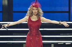 Handball : Kylie Minogue en concert après la finale des Bleus