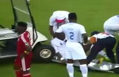 CAN 2015 : La voiturette des soigneurs percute un joueur blessé