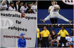 Des manifestants perturbent brièvement la finale de l'Open d'Australie