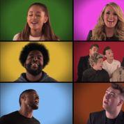 Super Bowl: Jimmy Fallon chante avec Christina Aguilera et les One Direction