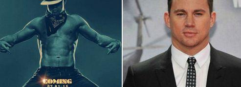 Channing Tatum nu sur l'affiche de Magic Mike 2