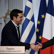 Grèce : Tsipras demande l'aide de Paris pour rendre sa dette viable