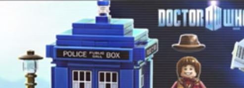 Doctor Who se décline en Lego