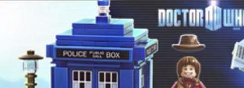 Doctor Who se décline en Lego