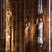 Les veilleurs de pierre de la cathédrale de Strasbourg