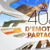 Les téléspectateurs répondent présent pour fêter les 40 ans de TF1