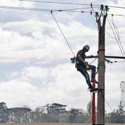 Vents violents : 11.200 foyers encore privés d'électricité dans le sud
