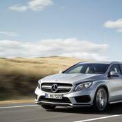 Mercedes porté par la dynamique de ses nouvelles gammes
