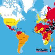 La liberté de la presse recule partout dans le monde