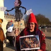 Les guides-conférenciers aux marches de Versailles!