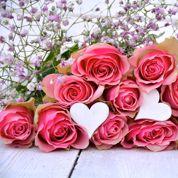Saint-Valentin: les bouquets sont éternels