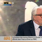 Pour Roland Dumas, Manuel Valls est «sous influence» juive