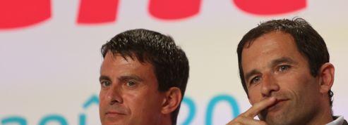 Valls dénonce «les postures» de Hamon sur la loi Macron