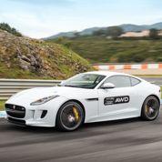 Jaguar F-Type, sport et motricité