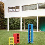 Tolix chez Le Corbusier - Design à la Villa Savoye