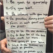 Un journaliste dévoile les notes secrètes d'Andy Murray