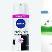 Axe et Rexona boutent les mini-déodorants Nivea hors des rayons