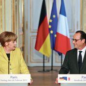 Hollande et Merkel unis sur l'Ukraine: «Tout Minsk, rien que Minsk»