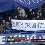 La banderole anti-raciste de Chelsea